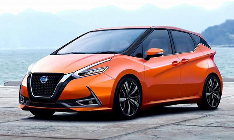 ภาพเรนเดอร์ Nissan Note เวอร์ชั่นประตูเลื่อน 3 แถว