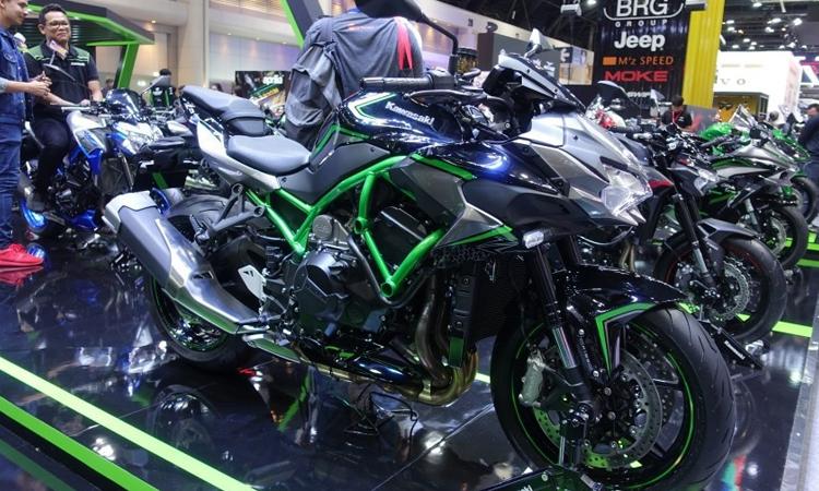 ดีไซน์ Kawasaki Z H2