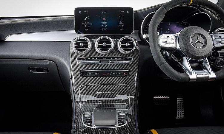 คอนโซนกลาง Mercedes-AMG GLC 63 S 4MATIC+ Coupe