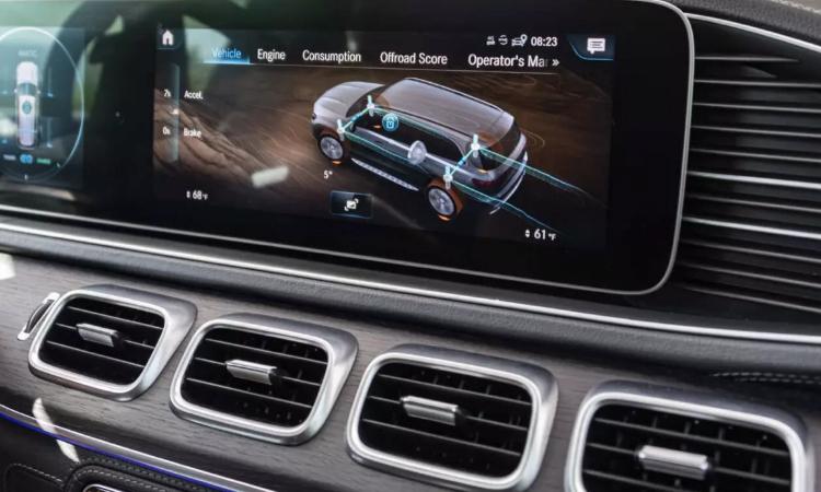 เซ็นเซอร์รอบคัน Mercedes-Benz GLE 300 d 4MATIC AMG Dynamic