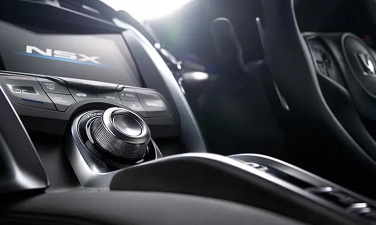 คอนโซนกลาง NEW Honda NSX 2020