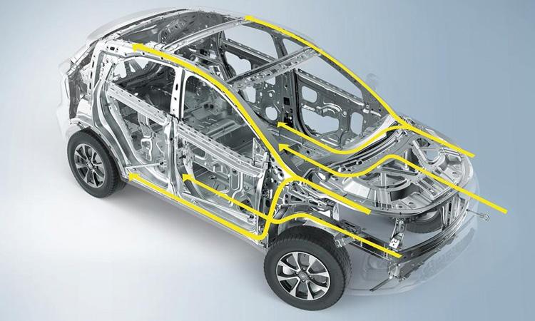 โครงสร้าง Tata Nexon EV 2020