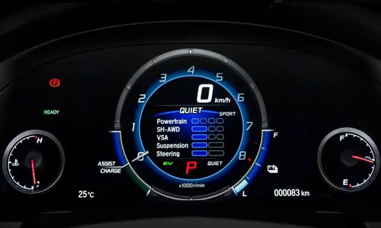 เรือนไมล์ NEW Honda NSX 2020