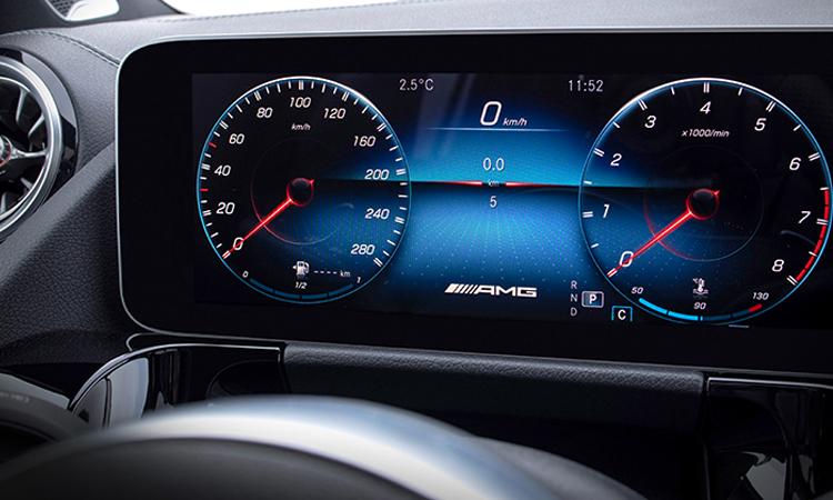 จอ All NEW Mercedes-Benz GLA-Class