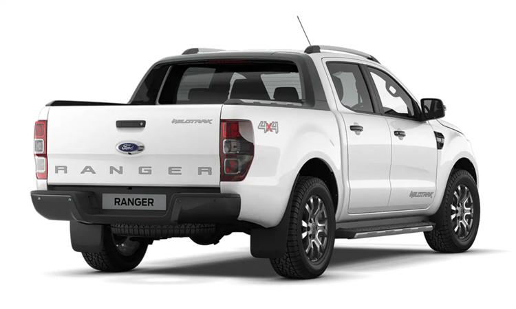 ดีไซน์ Ford Ranger Double Cab 2.2