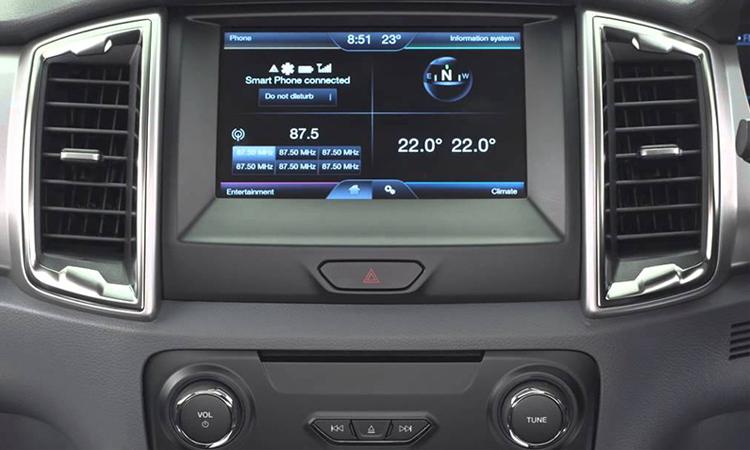 สิ่งที่เปลี่ยนแปลงใน Ford Ranger รุ่น Double Cab 2.2 XLS / XLT Hi-Rider (MY2019)