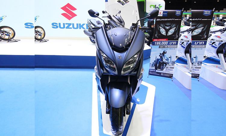 ไฟหน้า NEW SUZUKI BURGMAN 400 2020