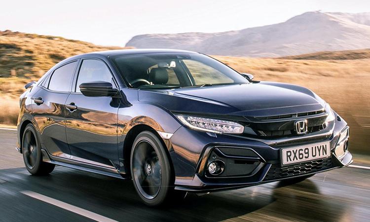 ดีไซน์ Honda Civic Sport Line 2020