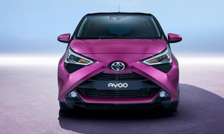 ดีไซน์ด้านหน้า Toyota Aygo