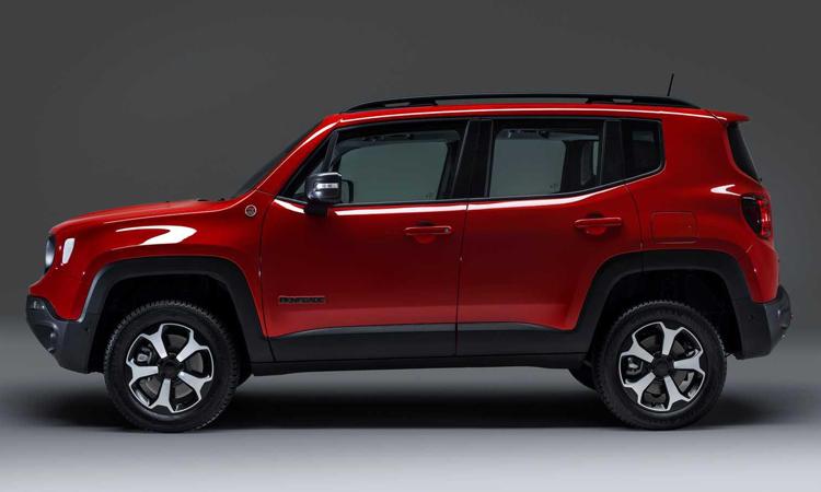 ดีไซน์ Jeep Renegade PHEV