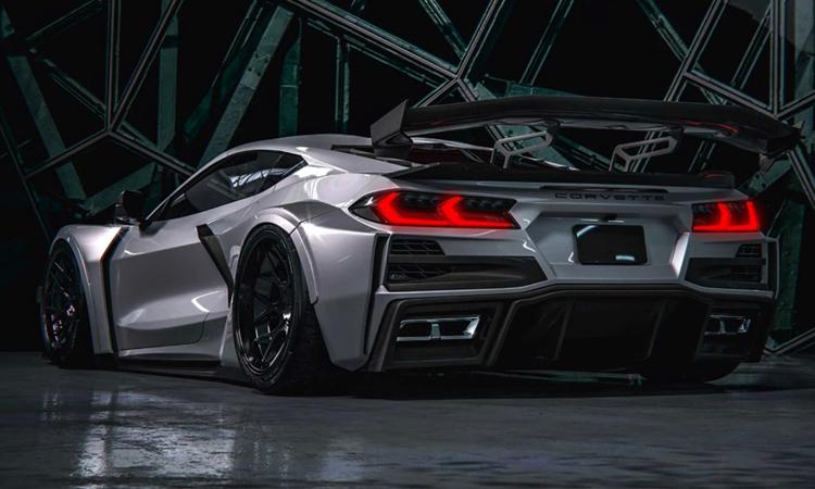 ดีไซน์ Chevrolet Corvette Widebody