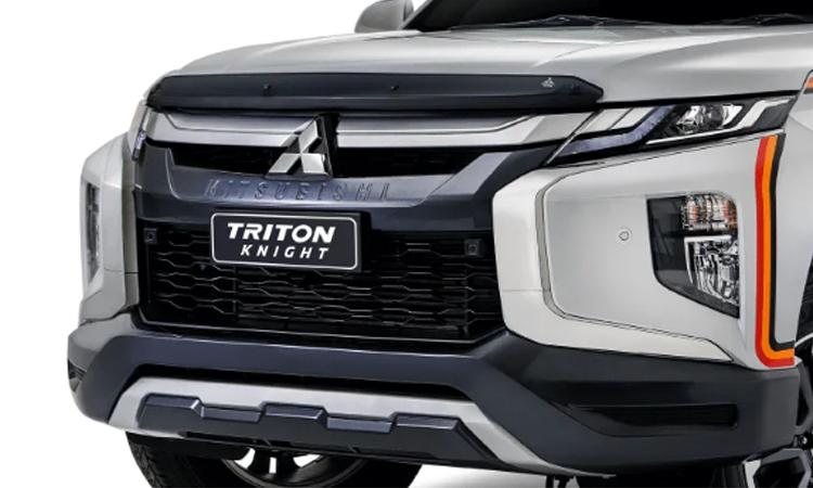 ดีไซน์ด้านหน้า Mitsubishi Triton Knight Limited Edition