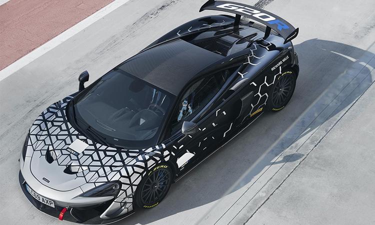 ดีไซน์ McLaren 620