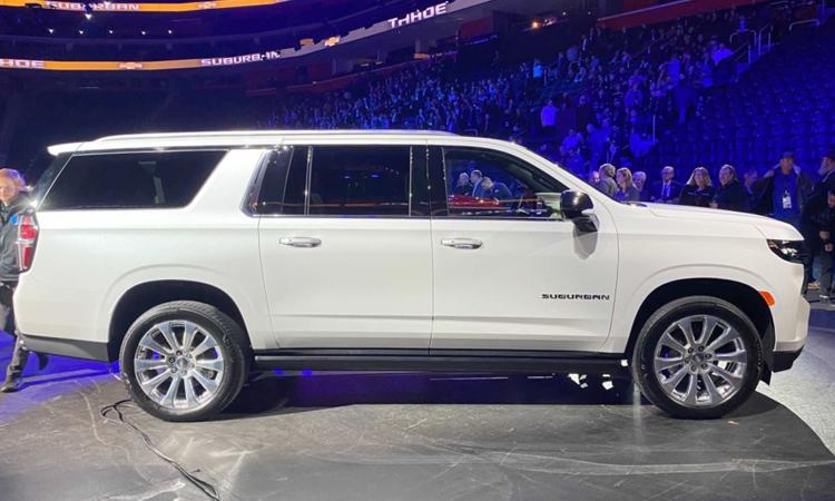 ตัวถัง Chevrolet Suburban 2020