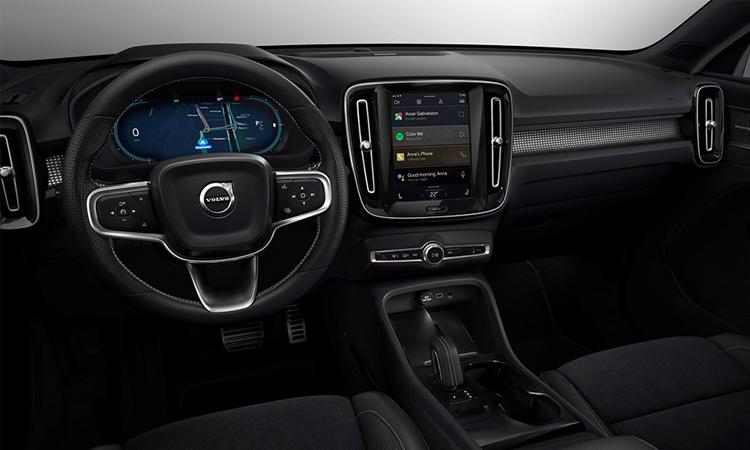 ภายใน Volvo XC40 Recharge EV