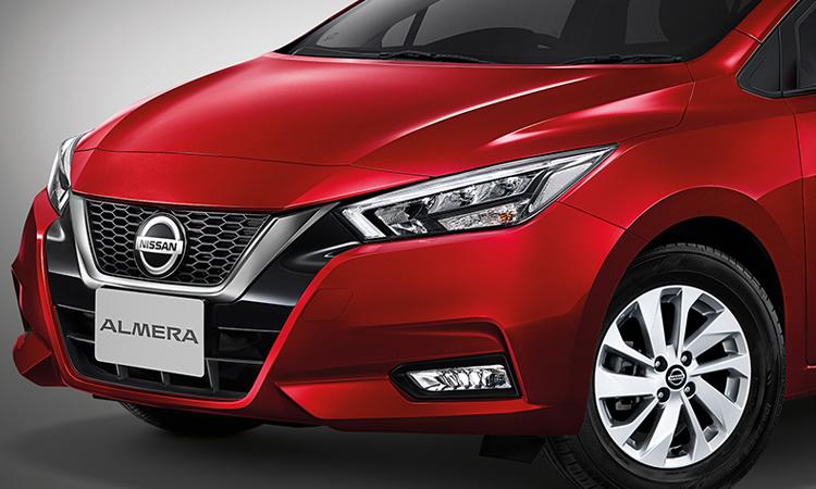 ดีไซน์ด้านหน้า ตารางราคาผ่อน/ดาวน์ All NEW Nissan ALMERA 1.0 TURBO