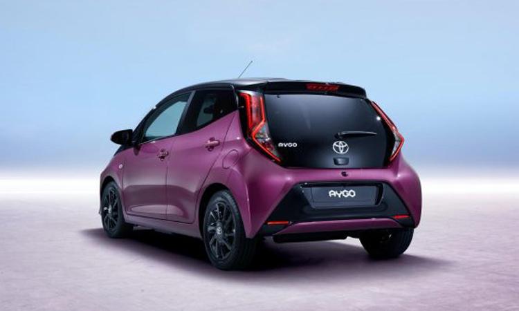 ดีไซน์ท้าย Toyota Aygo