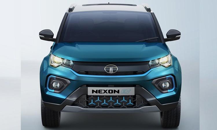 ดีไซน์ด้านหน้า Tata Nexon EV 2020