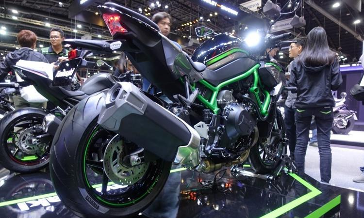 ช่วงตัว Kawasaki Z H2