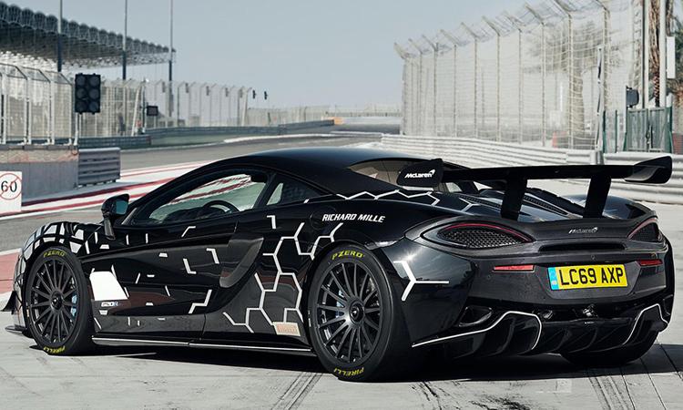 กระออกแบบ McLaren 620