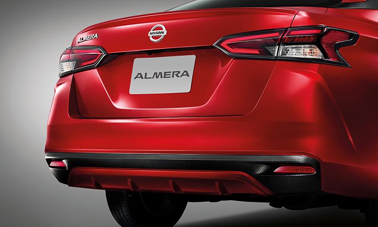 ดีไซน์ด้านหลัง ตารางราคาผ่อน/ดาวน์ All NEW Nissan ALMERA 1.0 TURBO