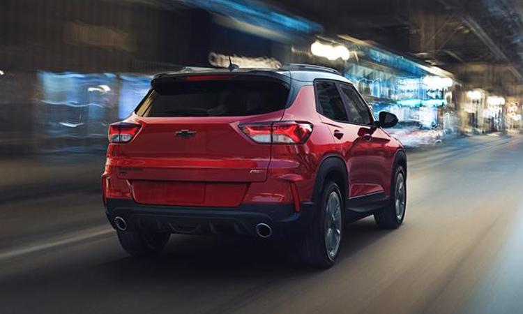 ดีไซน์ด้านหลัง Chevrolet Trailblazer 2021