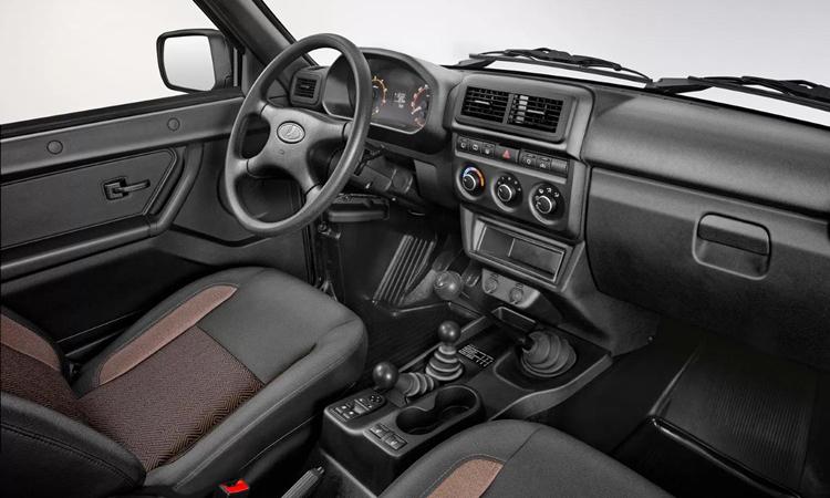ดีไซน์ภายใน Lada Niva 4x4