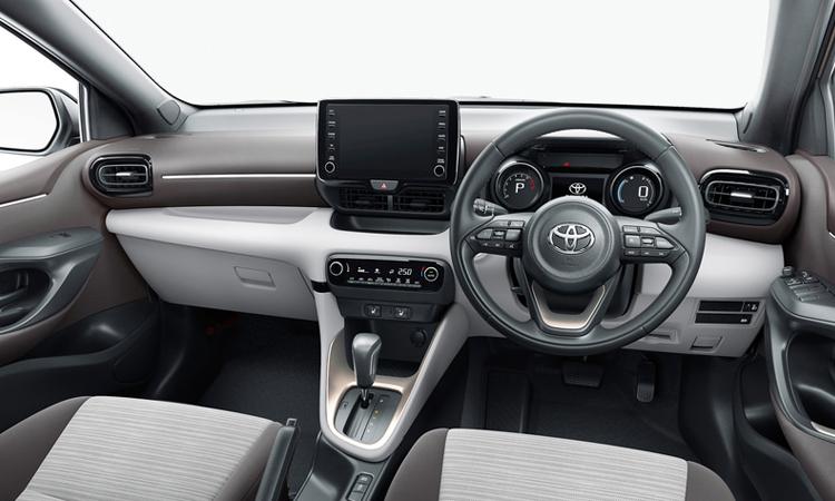 ภายใน Toyota Yaris
