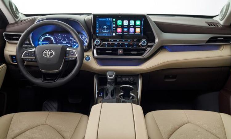 ภายใน Toyota Highlander