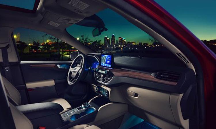 ภายใน Ford Escape Hybrid