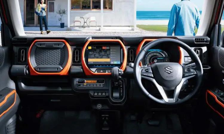 ภายใน Suzuki Hustler
