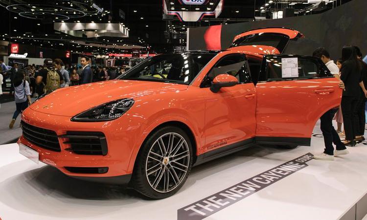 ดีไซน์ The New Cayenne Coupe
