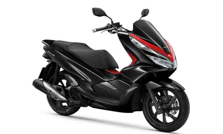 New PCX150i แดงดำ