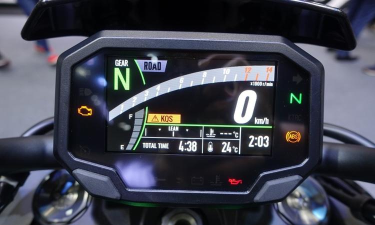 ไมล์ Kawasaki Z H2