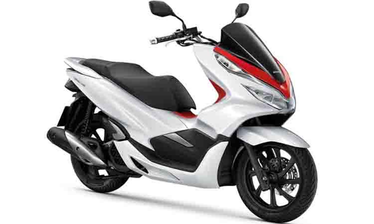 New PCX150i แดงขาว