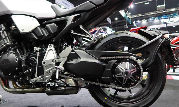 การออกแบบช่วงล่าง Honda CB1000R 2020