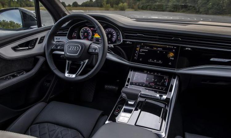 ภายใน Audi Q7 PHEV