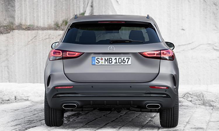 ดีไซนืด้านหลัง All NEW Mercedes-Benz GLA-Class