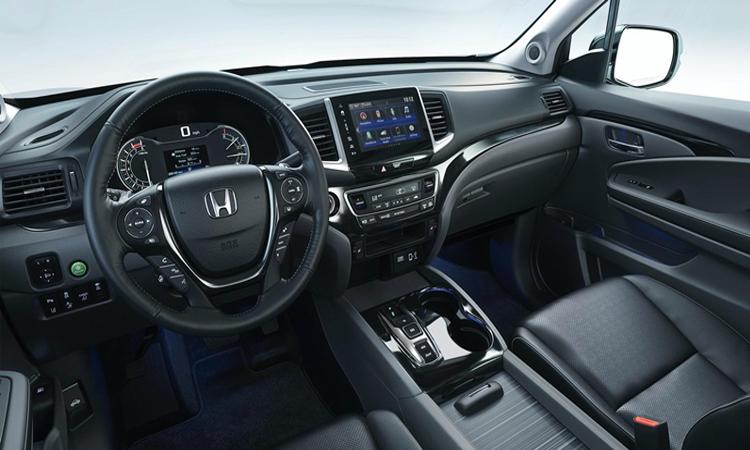 ดีไซน์ด้านใน Honda Ridgeline