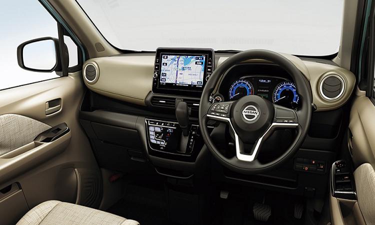 ภายใน Nissan Dayz 2019สีเบจ