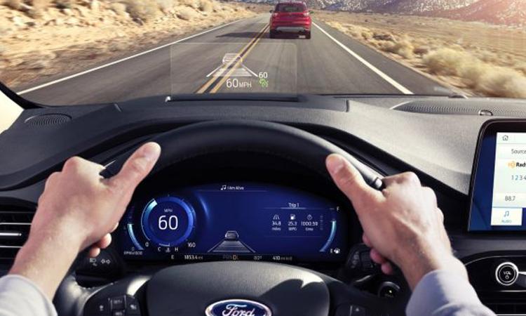 ระบบความปลอดภัย Ford Escape Hybrid