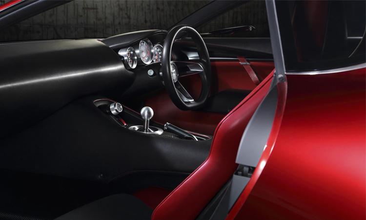 ภาพทีเซอร์ Mazda RX-Vision GT3ารออกแบบภายใน