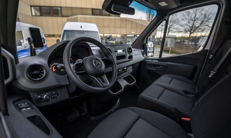 ภายใน Mercedes-Benz eSprinter