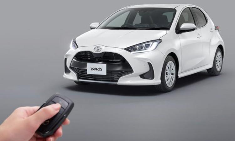 กุญแจรีโมท Toyota Yaris