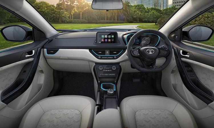 ภายใน Tata Nexon EV 2020