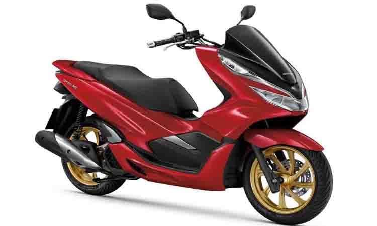 New PCX150i ดำแดง