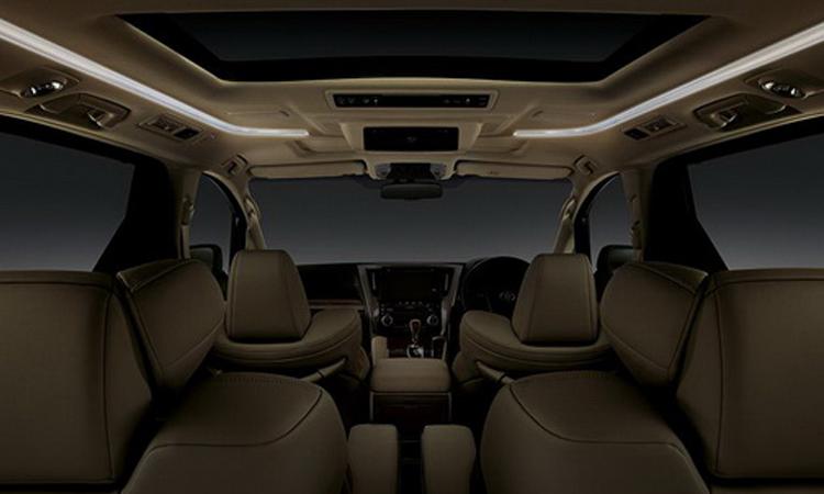ภายใน Toyota Alphard