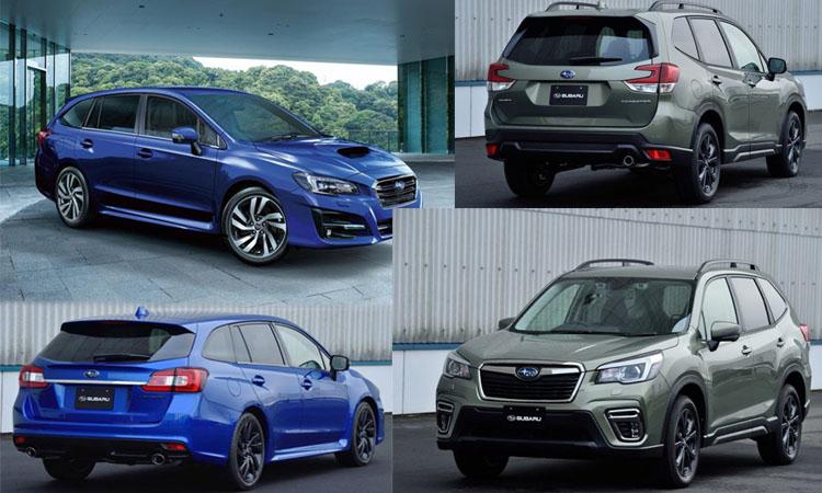Subaru เปิดราคา Revogue V-SPORT และ Foreste X-Edition