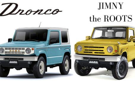 Suzuki อวดโฉม Suzuki Jimny ที่งาน Tokyo Auto Salon 2020