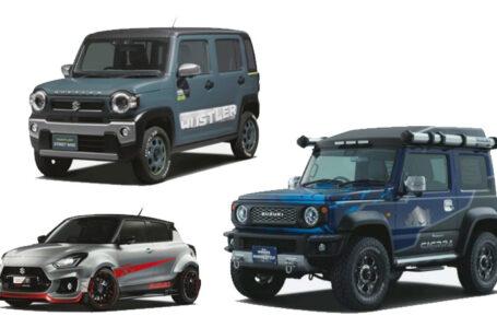 Suzuki อวดโฉมรถยนต์ 3 รุ่น ทั้ง Jimny, Hustler, Swift Sport ในงาน Tokyo Auto Salon 2020